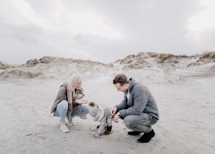 Familienshooting an der Nordsee