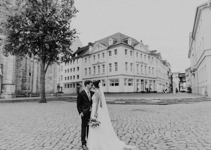 Alina & Sven Sommerhochzeit mitten in Braunschweig