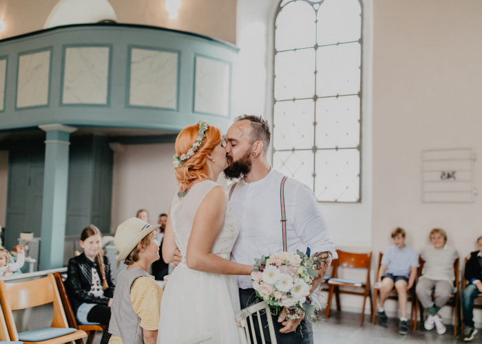 Katja & Bastian - Kirchliche Trauung Bornum am Elm