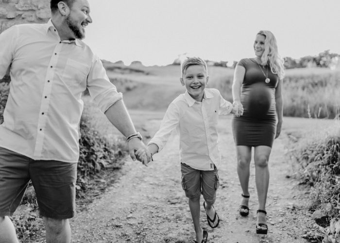 Babybauchshooting - bald großer Bruder 2017