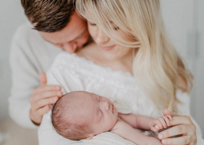 Neugeborenen-Homestory